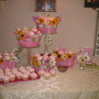 Elyssa I did these cupcakes for a baby shower last weekend. The little girl's name is Elyssa. I took the ideas from this site, so thanks!...