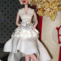 Marilyn Monroe This is a close up of the fondant Marilyn I did for my Fair entry. This was my first attempt at molding people. I would surely change some...