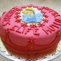 Cinderella Cake this cake was for a 5-year-old loving girl who loves princesses :)