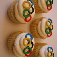 Olympic Pride Cupcakes