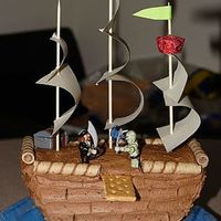 Pirate Ship 2   Pirate ship side view