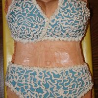 Bikini Cake I made this cake for a neighbor whom gave it to a guy she worked with as a joke. He e mailed me and told me that he couldn't keep his...
