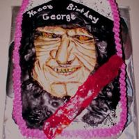 Darth Sidious Birthday Cake I made this cake for a boy that was big time into StarWars. I had never heard or seen this character before, so when I did, I thought,&quot...
