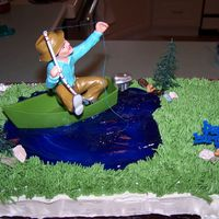 Fishing Cake birthday cake