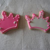 Tiara Cookies I am not at all pleased at how these turned out, I think I could have definitely done a better job.