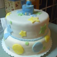 My Sister's Baby Shower Cake