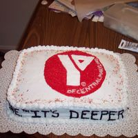 Ymca Of Central Maryland Cake   I made this cake y husbands christmas party at work