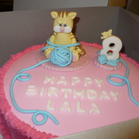 Animals Cake all decorations are made with gum paste