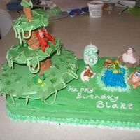Big Big World   Cake for Blake's 6th birthday - Big Big World on PBS