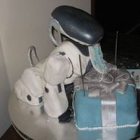 "Aibo For Engadget This cake was made for Engadget.com in 2006 as part of their contest for a ""birthday cake"". The winner won an alienware computer..."