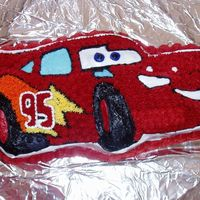 Lightening Mcqueen Buttercream fosting