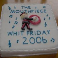 Themouthpiece.com This cake was made to celebrate what is described as the greatest free show in England. Once a year brass bands from all around the world...