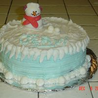 Snowman Cake I made this after seeing one similiar to it on this website-It was for a coworker with a December Birthday-she loved itChocolate with dark...