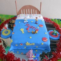 Bed Toy Story Cake