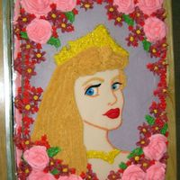 Sleeping Beauty This was a cake a did for my niece awhile back. She wanted a purple cake with Sleeping Beauty on it. It's buttercream and my first...