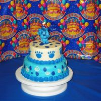 Blues Clues Cake This is my last minute Blues Clues cake for my son's 3rd birthday party. I was so uninspired that I had a terrible time coming up with...
