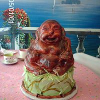 Budha   I did this for a grooms cake....................I really didnt want to let him go......he had his own personality!!LOL