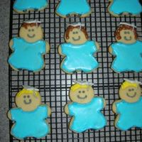Preschool Graduation Cookies  I made these for my daughter's preschool graduation celebration. Alice's Cookie Icing (way yummy) Look for it in the recipe box...