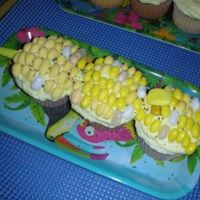 Corn On The Cob   Saw this design in a book. Cost a small fortune in Jelly Belly Jelly Beans! lol