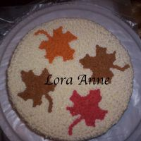 Fall Cake I made two versions of this cake. One for company Thanksgiving party and one for family dinner. Both were Peaches N Cream cake with...