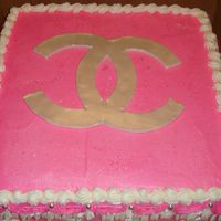 "Coco Chanel Logo   The cheerleading team of a local school use the ""CC"" for all of their logo items."