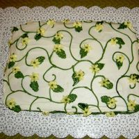 Lemon Cake With Lemon Curd Filling Just a quick cake for Bunco nite with the girls...buttercream lemon flavored also