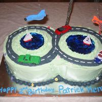 Cars, Boats And Planes This cake was the easiest hard cake I've made. My customer insisted on whipped cream icing even though I had never made it before. I...