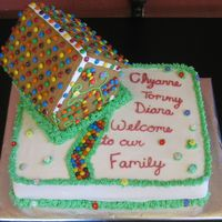 Welcome To Our Family I made this cake for my sister-in-law. She lives in Wisconsin and we're in NJ. She's in the process of adopting 3 children and...