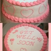 Get Well My neighbor..also my dear friend had surgery Thursday and asked me if I would make her a cake. She had alot of precancer issues and was...