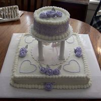 Lavendar/silver Bridal Shower