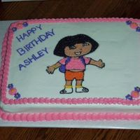 Dora This is the first Dora cake I did. Have had many request from this picture.