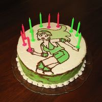Girl Skater This was my first FBCT. It's one of my niece's favorite characters from a card game. It's a chocolate cake with buttercream...