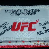 Ufc Whipcream and royal icing.