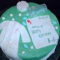Pharmacist Bday cake for a pharmacist