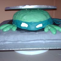 Teenage Mutant Ninja Turtles TMNT all cake with gp lid