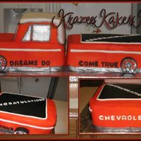 Make A Wish This was a last minute cake for the Make A Wish Foundation. A local dealership had restored a 1971 Ford PU for a 16 year old boy with...