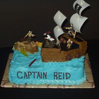 Pirate Cake View 2   Another view of my pirate cake!