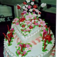 Sweetheart Cake Just a different view of the same cake.