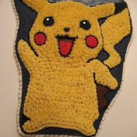 Pikachu Okay, I'm tired of Pokemon cakes. All my sons' friends like Pokemon, so this is all they want! I disliked this character pan, was...
