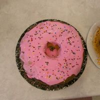Mmmm...doughnut A very large doughnut with sprinkles (went with the beer mug that's also in my photos)