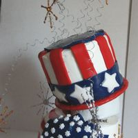 4Th Of July Topsy-Tury (Side View)