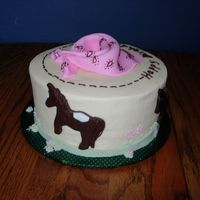 Western Theme For A Little Girl