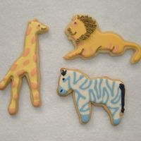Baby Shower Cookies These are NF sugar cookies with RI. They were cookie favors for a baby shower.