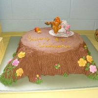 "Classic Pooh Baby Shower  I borrowed (with permission) this design from 'laneysmom' for my SIL's baby shower. She loved it! It is a 12"" round,..."