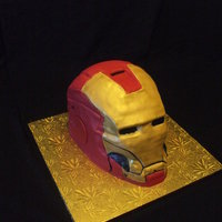 Iron Man Iron Man in fondant