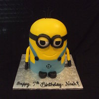 Dispicable Me all fondant