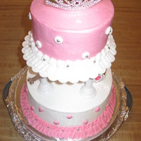 Princess Birthday Cake Princess cake for my little princess!