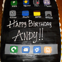 Hello? iPhone Cake