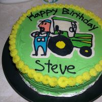 John Deere Birthday This was made for our head of maintainence at work. My first FBT. Could have smoothed it more , you can still see the lines.