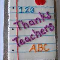 Thanks Teachers